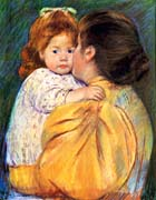 Mary Cassatt Maternal Kiss