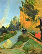 Paul Gauguin Les Alycamps