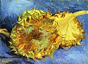 Vincent Van Gogh Two Sunflowers
