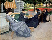 Gustave Caillebotte Portraits In The Countryside canvas prints