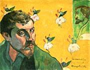 Paul Gauguin Self Portrait Dedicated to Vincent van Gogh