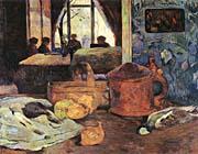 Paul Gauguin Still Life in an Interior