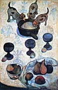 Paul Gauguin Still Life with Three Puppies