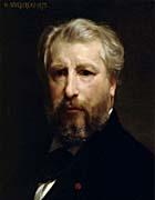 William Bouguereau Portrait Of The Artist William Bouguereau canvas prints