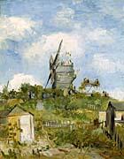 Vincent Van Gogh Blute Fin Windmill Montmartre