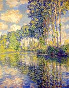 Claude Monet Poplars on the Banks of the Epte River