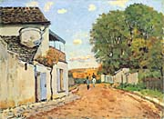 Alfred Sisley Street in Louveciennes