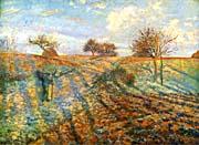 Camille Pissarro Hoarfrost