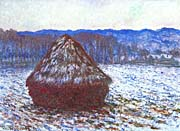 Claude Monet The Grainstack