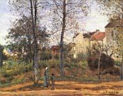 Camille Pissarro Landscape at Louveciennes