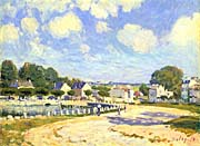 Alfred Sisley Watering Place at Marly