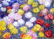 Claude Monet Chrysanthemums 1897