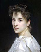 William Bouguereau Portrait of Gabrielle Cot