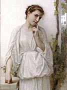 William Bouguereau Revery canvas prints