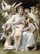 William Bouguereau The Assault