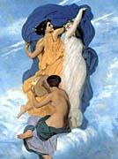 William Bouguereau The Dance canvas prints