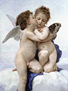William Bouguereau The First Kiss