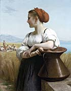 William Bouguereau The Harvester canvas prints