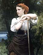 William Bouguereau The Haymaker