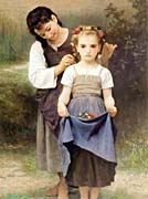 William Bouguereau The Jewel Of The Fields canvas prints