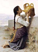 William Bouguereau Thirst