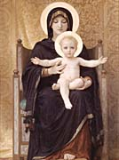 William Bouguereau Virgin and Child