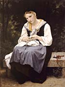 William Bouguereau Young Worker
