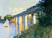 Claude Monet Railroad Bridge, Argenteuil