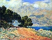Claude Monet Cap Martin, near Menton