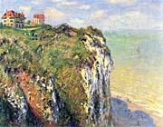 Claude Monet Cliffs near Dieppe