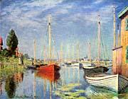 Claude Monet Pleasure Boats at Argenteuil