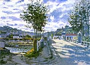Claude Monet The Bridge at Bougival