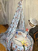 Claude Monet The Cradle, Camille and Jean