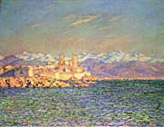 Claude Monet The Old Fort at Antibes
