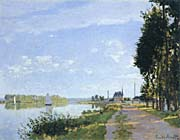 Claude Monet The Promenade, Argenteuil