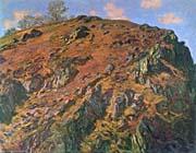 Claude Monet The Rock