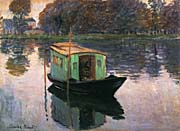 Claude Monet The Studio Boat