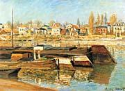 Claude Monet The Seine At Asnieres