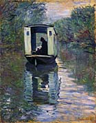Claude Monet The Boat Studio