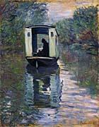 Claude Monet The Boat Studio