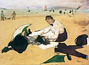 Edgar Degas At the Seaside