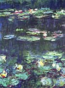 Claude Monet Green Reflection (detail)