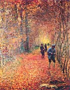 Claude Monet The Hunt