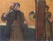 Edgar Degas At the Milliner's 1882