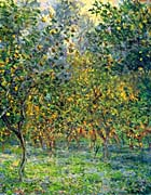 Claude Monet Under the Lemon Trees, Bordighera