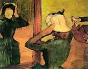 Edgar Degas At the Milliner's 1882-5