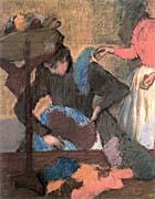 Edgar Degas At the Milliner's 1883