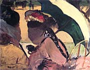 Edgar Degas At the Races