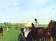 Edgar Degas Carriage at the Races