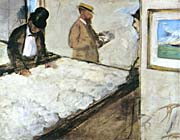 Edgar Degas Cotton Merchants